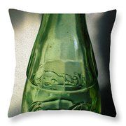 Iconic Glassware Throw Pillow