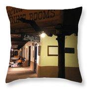 Iconic La Placita - Albuquerque  Throw Pillow