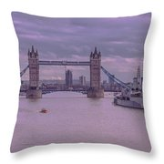 Iconic Thames Throw Pillow