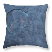 Icy Air Throw Pillow