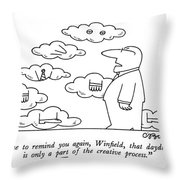 I'd Like To Remind Throw Pillow