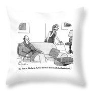 I'd Love Throw Pillow
