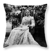 Ida Mckinley (1847-1907) Throw Pillow