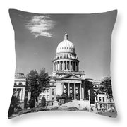 Idaho State Capitol Building Throw Pillow