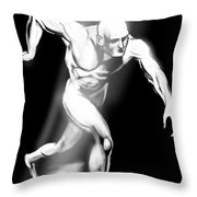 Identity Throw Pillow by John Jr Gholson