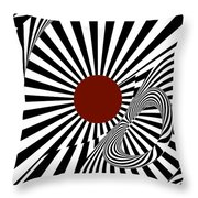 Ideology W/ Red Throw Pillow