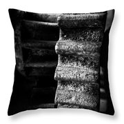 Idle Cog Throw Pillow