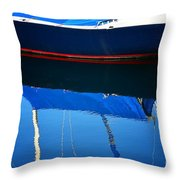 Idle Waters Throw Pillow