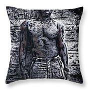 Idris Elba Throw Pillow