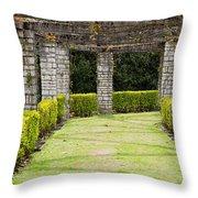 Idyllic Garden Throw Pillow
