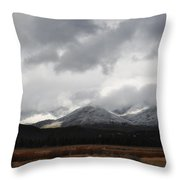 Idyllwild Snowfall Throw Pillow
