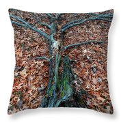 If A Tree Falls In The Woods Throw Pillow