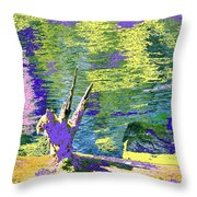 If Cats Could Fly Throw Pillow