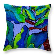 If Dragons Were Plants Throw Pillow