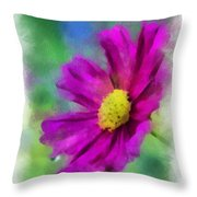 If Flowers Could Talk 01 Throw Pillow