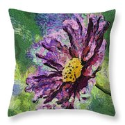 If Flowers Could Talk 04 Throw Pillow