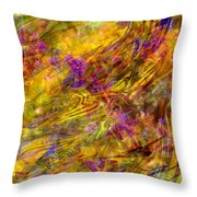 The Heavens Opened Throw Pillow