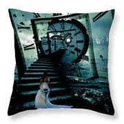 If I Could Go Back In Time Throw Pillow