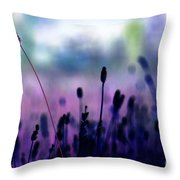 If I Had A Purple Crayon ... Throw Pillow