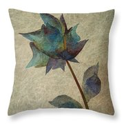 If I Would Be A Flower Throw Pillow
