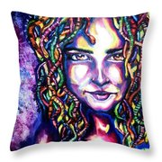 If Looks Could Kill Throw Pillow by Shana Rowe Jackson