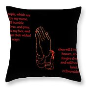 If My People Throw Pillow