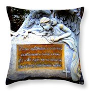 If Tears Could Build A Stairway Throw Pillow