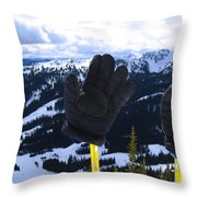 If The Glove Fits Throw Pillow