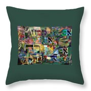 If There Is No Flour There Is No Torah 8 Throw Pillow