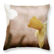 If These Flowers Could Speak  Throw Pillow