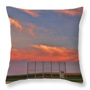 If You Build It The Sun Will Rise Throw Pillow