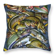 If You Cast It Throw Pillow by Jon Q Wright