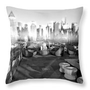 Check Please Throw Pillow by Diana Angstadt