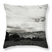 If Your Strength Is Gone Throw Pillow