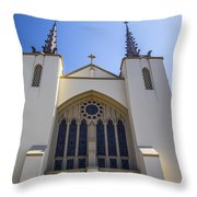 Iglesia 2 Throw Pillow