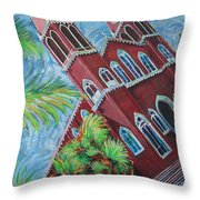 Iglesia Grecia  Costa Rica Throw Pillow
