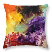 Ignition 2 Throw Pillow