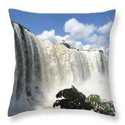 Iguacu Falls Throw Pillow