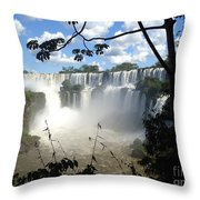 One Of The New Seven Wonders Of Nature Throw Pillow