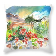 Igueste De San Andres 03 Throw Pillow