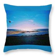 Ikaros Sunrise Throw Pillow