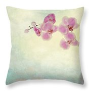 Ikebana Throw Pillow