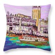 Il Campanile Di San Marco Throw Pillow