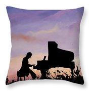 Il Pianista Throw Pillow