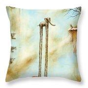 i'l Tappeto Magico #1 Throw Pillow
