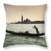 Il Veneziano Throw Pillow