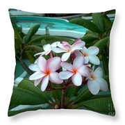 Ilan Ilan Flowers Throw Pillow