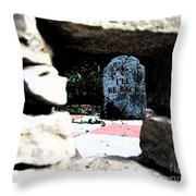 I'll Be Back By Jrr Throw Pillow