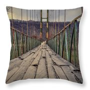 I'll Be Back  You Just Hail Throw Pillow