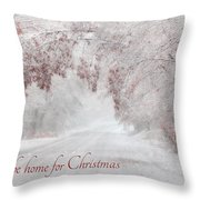 I'll Be Home Throw Pillow by Lori Deiter